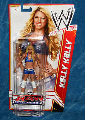 WWE Kelly Kelly Raw Super Show Wrestling  Action Figure