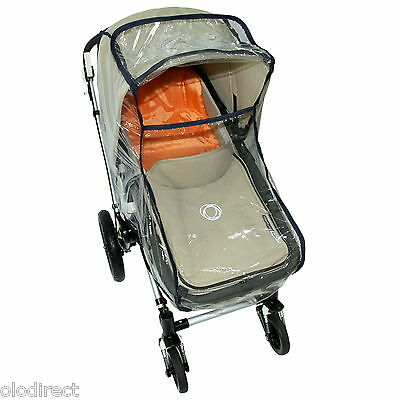 New Baby Child Universal Pram Carry Cot Bassinet Rain Cover Strong Top Quality!