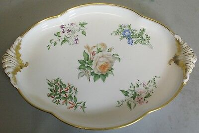 Large 19th C. Old Paris French Hand-Painted Platter c. 1850   Antique