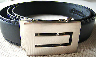 New Childrens/Boys Black Leather Belt RRP$69.95 Size20,22,24,26,28 Formal/Casual