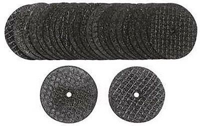"New Pack of 100 1-1/4"" Reinforced Cut Off Wheels 1/8"" Arbor For Dremel #RFW28100"