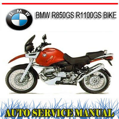 Bmw R850Gs R1100Gs Bike Repair Service Manual ~ Dvd