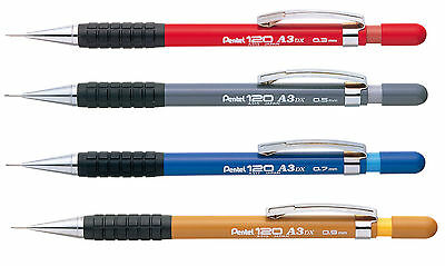 Pentel 120 A3 Automatic Mechanical Draughting Pencil 0.3, 0.5, 0.7, 0.9mm