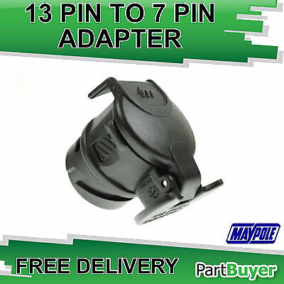 13 Pin To 7 Pin N Type Conversion Adaptor 12 Volt Maypole Mp601