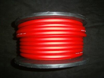 6 GAUGE AWG WIRE RED 25 FT CABLE POWER GROUND STRANDED PRIMARY FAST SHIPPING CAR
