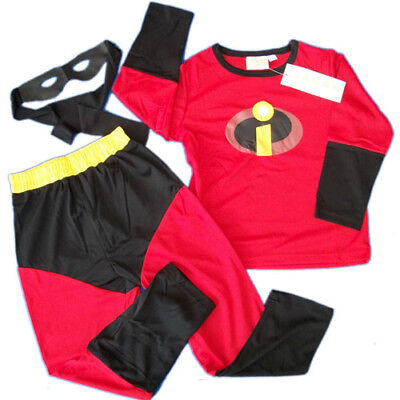 boys girls kids Incredibles incredible Crossplay Costume costumes party dress up