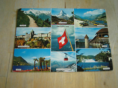 carte postale switzerland