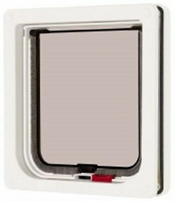 Cat Mate Lockable Cat Flap - White (304W)