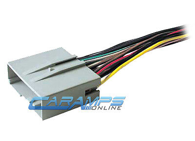car stereo cd player wiring harness wire adapter plug for aftermarket radio