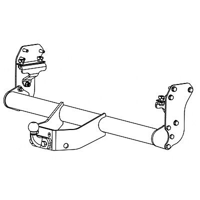 Witter Towbar for Isuzu D-Max Pickup 2012 On - Flange Tow Bar