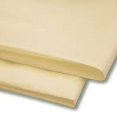 50 Sheets Cream Tissue Paper 500x750 Acid Free