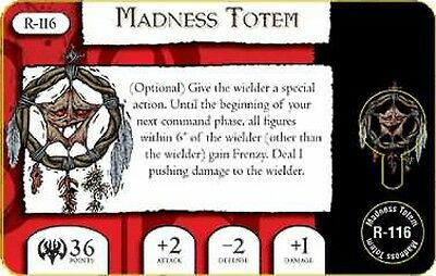 Mage Knight Omens R-116 Madness Totem