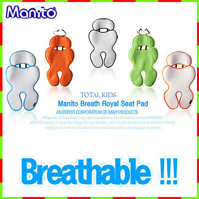 Manito Breath Royal Seat Pad Mesh Cover Cushion for baby kid stroller car seat