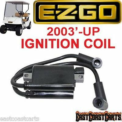 EZGO Golf Cart 2003'-Newer MCI 4 Cycle  IGNITION COIL 72866-G01