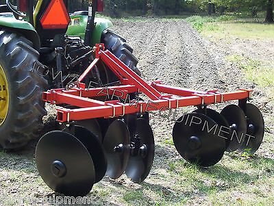 "IFE 84"" 2 or 3 Row Hiller: Raised Bed Maker, Elevated Bed Maker, Row Disc Bedder"