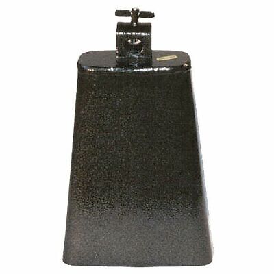 POWERBEAT Cowbell 6½ Inch Steel Black Pewter Finish *NEW* Thumbscrew Mount