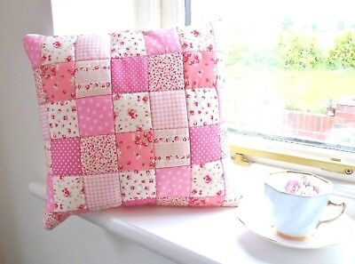 Patchwork Quilting Kit Cushion Craft Kit Complete Easy Sewing Project Beginner