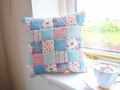 Patchwork Quilting Kit Cushion Craft Cotton Quality Fabrics Easy Sewing Project