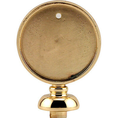 Beer Tap Handle Disk Finial - Gold Colored - Draft Beer Knob Replacement Parts