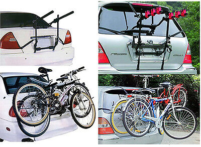 2 & 3 Cycle Carrier Car Rack Bike Bicycle Universal Rear Mounted Fitting Estate
