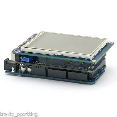 "SainSmart Mega2560+3.2"" TFT LCD Shield+Touch Screen SD Reader for Arduino 2560"