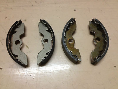 Honda TRX 300 2X4 FRONT BRAKE SHOES BIGRED FOURTRAX left and right both sides