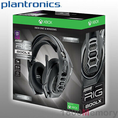 716ef888318 Plantronics RIG 800LX Wireless Gaming Headset Over Ear 2.4GHz RF for XBox  One PC