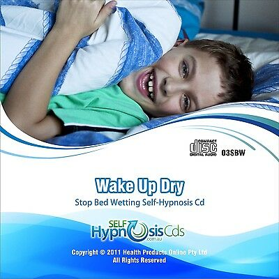 Kids Stop Bed Wetting Hypnosis Cd - Relax No Alarm - Dry Nights For Boys & Girls