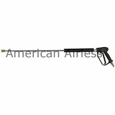 """New BE 36"""" 4000 PSI Pressure Washer Gun Wand And Couplings with Q/C Plug"""