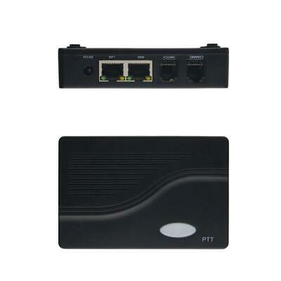 Cross-Network Gateway ROIP-102 Convert Audio and PTT Via IP Network Radio Of DBL