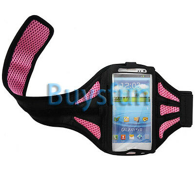 Pink Sport Gym Armband Case Cover For Samsung Galaxy S3 i9300