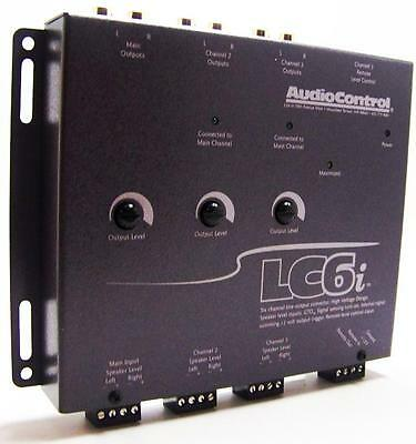 AudioControl LC6i 6-Channel Line Output Converter With Internal Summing Gray