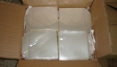 200 PP + FLAP Clear high quality Plastic CD / DVD / BDR BD-R Blu Ray Sleeves APC