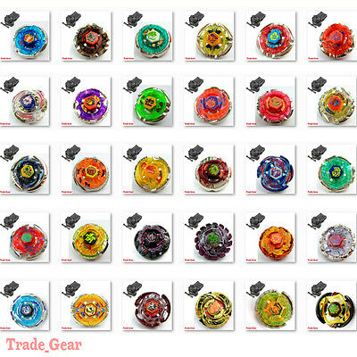Fusion BEYBLADE Metal Masters FIGHT Battle + Double String Left-Right Launcher