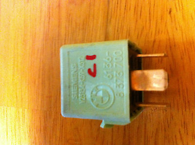 99 BMW 328I E46 LIGHT RELAY GREEN 5-PRONG 5 PRONG 8373700 - 8 373 700