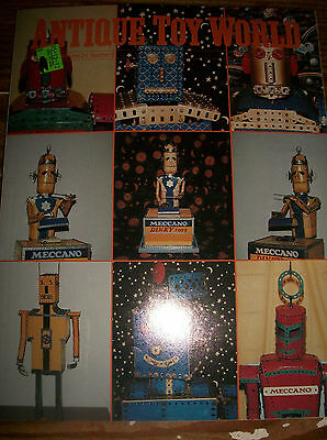 1994 Antique Toy World Magazine Dreamboats Toy Sculptures in Flat Metal