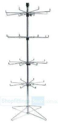 Floor 8 Prongs Spinner Display Stand Rack SPIN-SP210