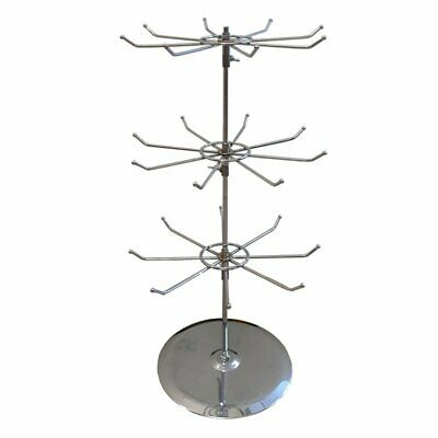 Counter Top 2 levels 8 Prong Spinner Display Stand Rack SPIN-SP105