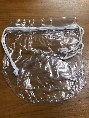 Drawstring Travel Bag Clear Airport Transparant Liquid Toiletries Cabin Hoilday