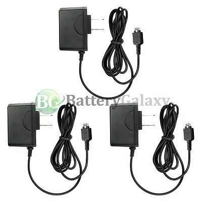 3 Travel Battery Home Wall AC Charger for LG enV enVY VX9900 vx10000 Voyager