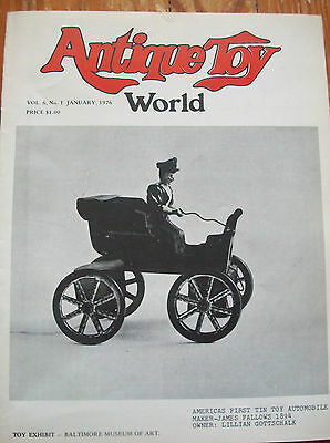 1976  Antique Toy World Magazine Toy Banks of Yesteryear