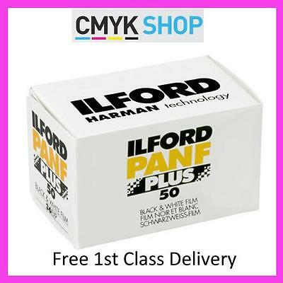 Ilford Delta PANF + 50 35mm 36 exp (5 Pack) pan f **free 1st UK P&P**