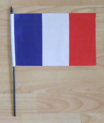 France Country Hand Flag - medium