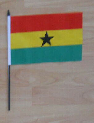 Ghana Country Hand Flag - medium