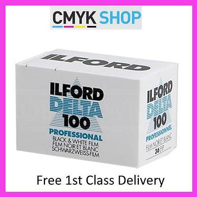 Ilford Delta 100 Pro 35mm 36 exp B+W Film (10 Pack) **Free 1st UK P&P**