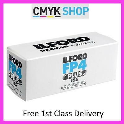 ILFORD FP4 PLUS 120 ISO 125 (5 PACK) **Free 1st UK P&P**