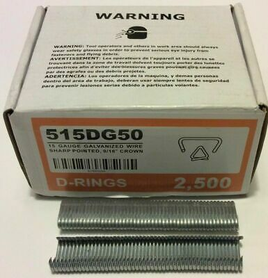 "Hog Rings 20,000pk 9/16"" Galvanized for Stanley Ringer Gun SHARP"