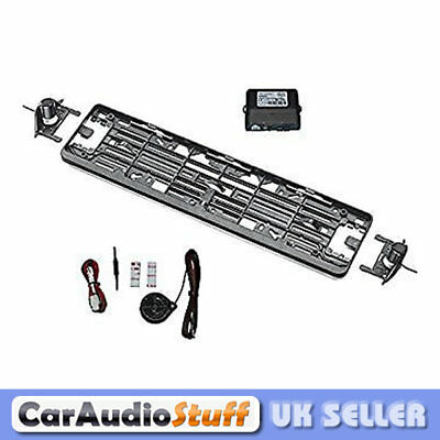 Easy Fit Numberplate Parking 2 Sensor PDC Kit Simple Quality Meta Rear Plate