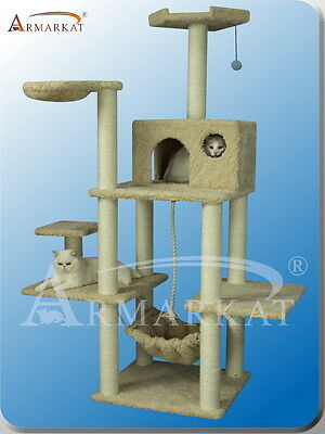 2012 New Style~Armarkat cat tree furniture condo scratching post house  A6901