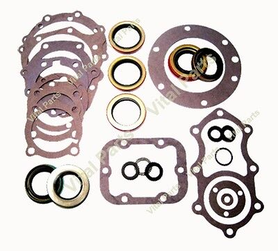 NP205 Transfer Case Gasket & Seal Kit GM Dodge '69-'87 Re-Seal Overhaul Kit